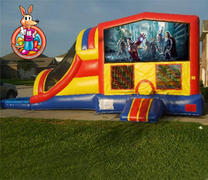 Avengers 5 in 1 Waterslide Combo Bouncehouse